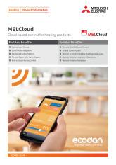 Ecodan MELCloud Product Information Sheet cover image