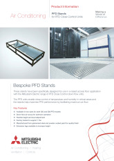 PFD Stands for PFD Close Control Units Product Information Sheet cover image