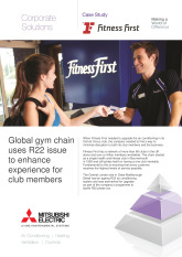Fitness First, City Multi R22 Replace System, London cover image