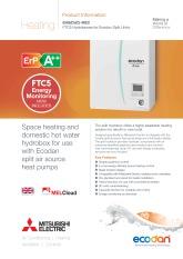 Ecodan FTC5 - EHS(D)(C)-MEC Split Hydrobox Product Information Sheet cover image