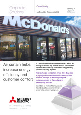McDonald's Restaurant's, Air Handling Units cover image