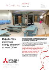 Majestic Wine HQ, City Multi VRF (R2 Series) cover image