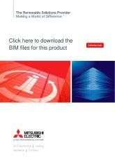 BIM files for Ecodan split systems cover image