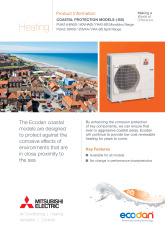 Ecodan Coastal Protection Models (BS) Product Information Sheet cover image