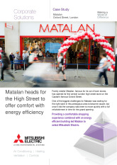Matalan - City Multi VRF, London cover image