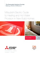Heating and Hot Water Provision in New Build Homes CPD Guide cover image