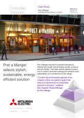 Pret a Manger, City Multi VRF, London cover image