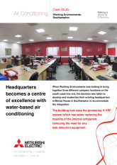 Working Environments, City Multi Hybrid VRF, Southampton cover image