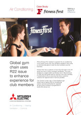 Fitness First, City Multi VRF (Y Series), London cover image