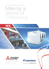 NX Chiller Range Product Brochure cover image