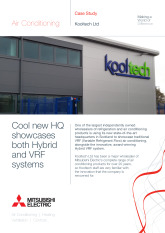 Kooltech HQ, Hybrid VRF, Glasgow cover image