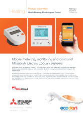 Ecodan FTC5 - Metering, Monitoring & Control (MELCloud) Product Information Sheet cover image