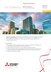 PWFY-P100VM-E-BU Product Information Sheet cover image