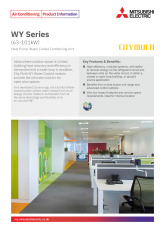 WY Series (63-101kW) Product Information Sheet cover image