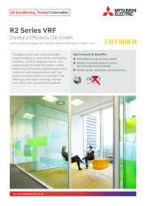 R2 Series VRF Standard - YNW (50-63kW) Product information Sheet cover image