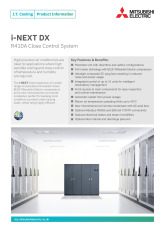 i-NEXT DX Product Information Sheet cover image