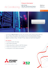 MSY-TP35-50VF Product Information Sheet cover image