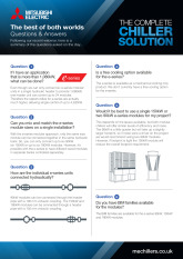 Chillers Post Webinar Fact Sheet - March 2019 cover image