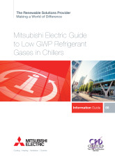 Low GWP Refrigerant Gases in Chillers CPD Guide cover image