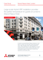 Strand Palace, Hybrid VRF, London cover image
