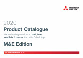 2020 Product Catalogue M&E Edition cover image