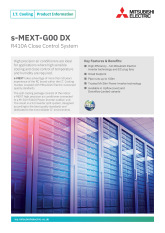 s-MEXT-G00 DX R410A Product Information Sheet cover image