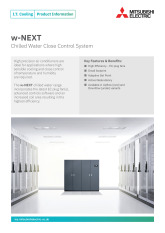 w-NEXT Product Information Sheet cover image