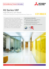 R2 Series VRF High Efficiency - YSNW (69-96kW) Product Information Sheet cover image