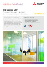 R2 Series VRF Standard - YNW (22.4-45kW) Product Information Sheet cover image