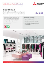 SEZ-M-R32 Standard Inverter Product Information Sheet  cover image