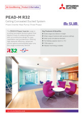 PEAD-M R32 Power_Inverter Three Phase Product Information Sheet  cover image