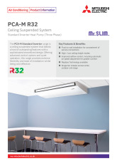 PCA-M R32 Standard Inverter Three Phase Product Information Sheet  cover image