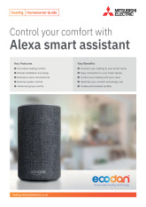 Ecodan Alexa Homeowner Guide cover image