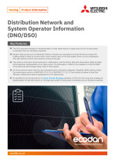 Ecodan Distribution Network and System Operator Information Product Information Sheet cover image