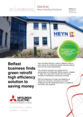Heyn Handling, City Multi VRF (R2 Series Replace), Belfast cover image