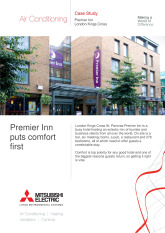 Premier Inn, City Multi VRF (R2 Series), London cover image