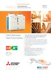 Ecodan CAHV-P500YB-HPB Product Information Sheet cover image