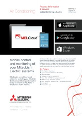 MELCloud Product Information Sheet cover image