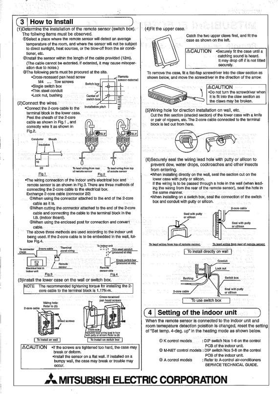 Pac Se41ts E Installation Manual Wt02927x01 Mitsubishi Electric