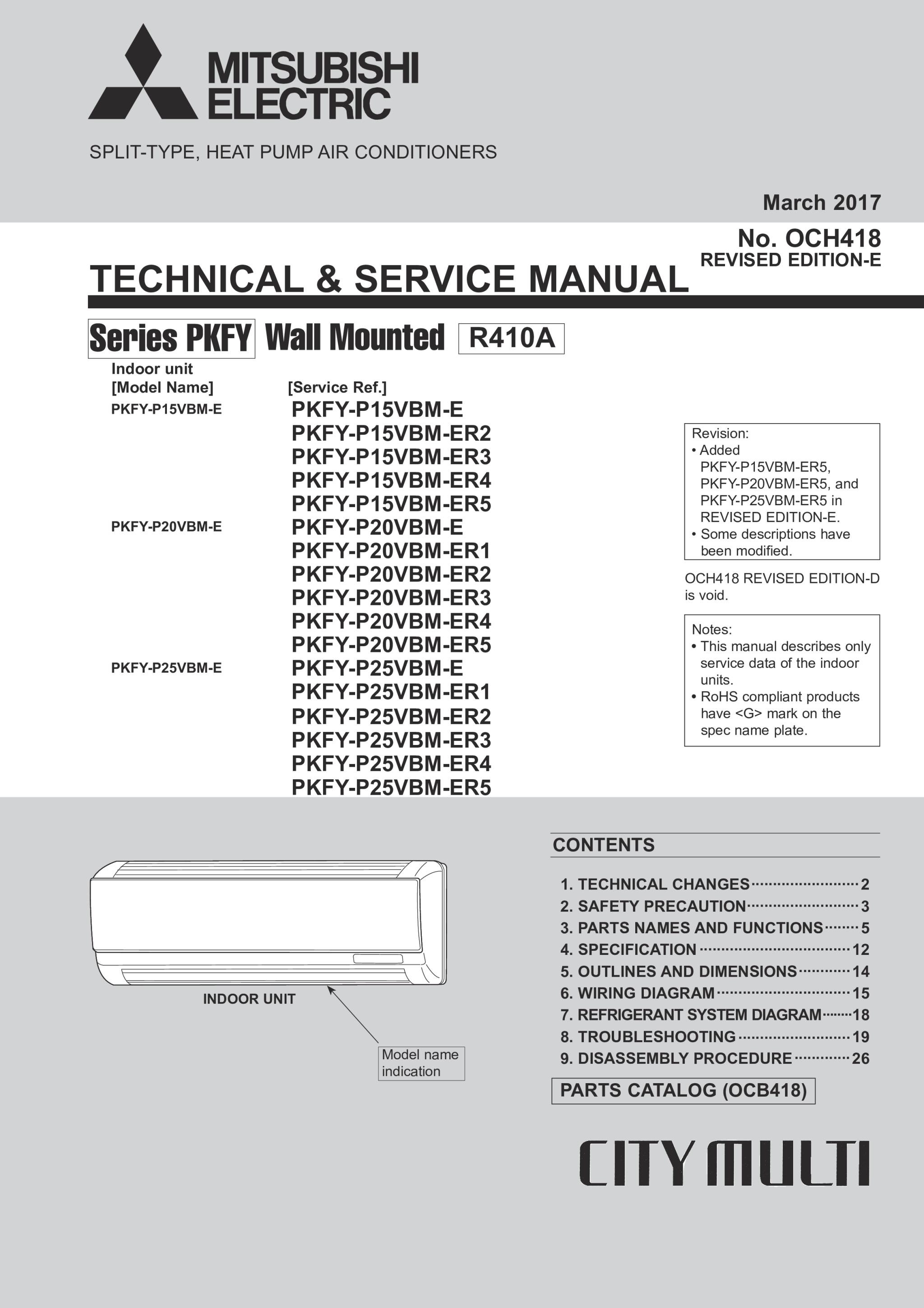 39a3b9 mitsubishi city multi service manual   wiring library  wiring library