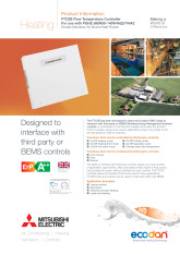 Ecodan FTC2B Product Information Sheet cover image