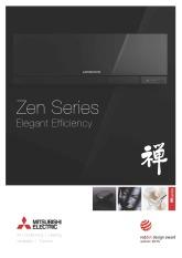 M Series MSZ-EF (Zen) Brochure cover image