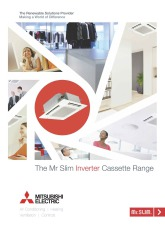 Mr Slim Inverter Cassette Range Brochure cover image