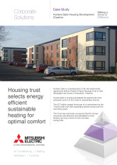 Hunters Gate, Commercial Heating for Housing Developer, Cheshire cover image