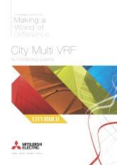 City Multi VRF Brochure cover image