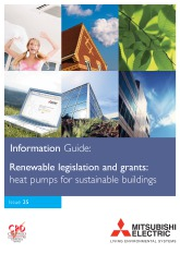 2009 - Renewable legislation and grants - heat pumps for sustainable buildings cover image