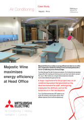 Majestic Wine HQ, City Multi VRF (R2 Series) cover image