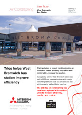 West Bromwich Bus Station, City Multi VRF (R2 Series Replace), Mr Slim Split System cover image