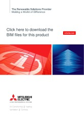 BIM files for Mr Slim outdoor units cover image