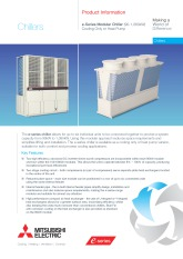 e-Series Modular Chiller Range Product Information Sheet cover image